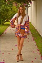 Zara bag - by me dress - Zara heels