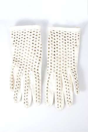 leather unknown brand gloves