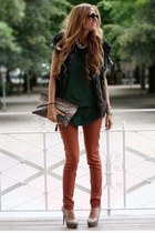 Zara vest - Stradivarius pants - oppure sweatshirt