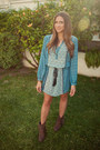 Target-boots-forever-21-dress-2020ave-necklace-h-m-vest