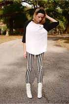 boots - H&M pants - t-shirt
