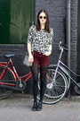 Off-white-leopard-lindex-sweater-crimson-oasis-shorts