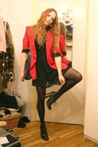 red moschino cheap & chic blazer - green Dolce & Gabbana shoes