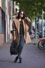 Black-ankle-vagabond-boots-camel-ashley-brooke-coat