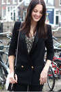 Black-high-waist-bdg-jeans-black-tuxedo-mango-blazer