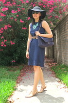 Joe Fresh dress - Forever21 necklace - Zara sandals - NA belt
