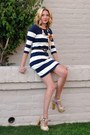 Navy-h-m-dress-cream-aldo-clogs