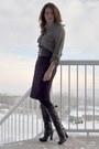 Black-bcbg-boots-deep-purple-joe-fresh-skirt