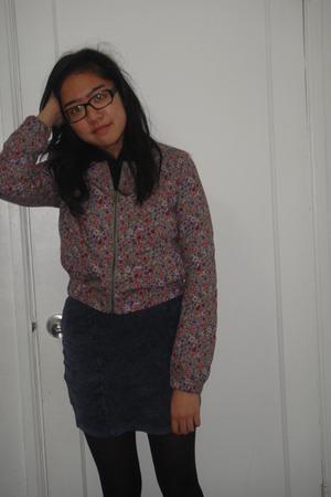 skirt - coat