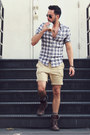 Luv-aj-ring-kenneth-cole-boots-william-rast-for-target-shirt-h-m-shorts