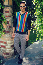 striped Mr Turk sweater - Mr Turk pants