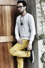 Navy-vans-shoes-off-white-club-monaco-sweater-bronze-micha-design-necklace