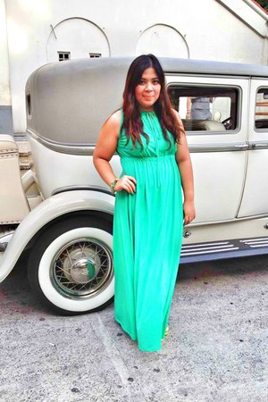 aquamarine maxi dress Freeway dress