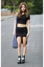 Unif-boots-nastygal-skirt-missguided-top