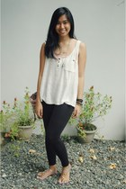 ivory Forever 21 top