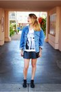 Black-jeffrey-campbell-boots-light-blue-vintage-jacket