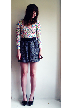 Finders Keepers top - skirt