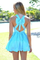 blue wave dress