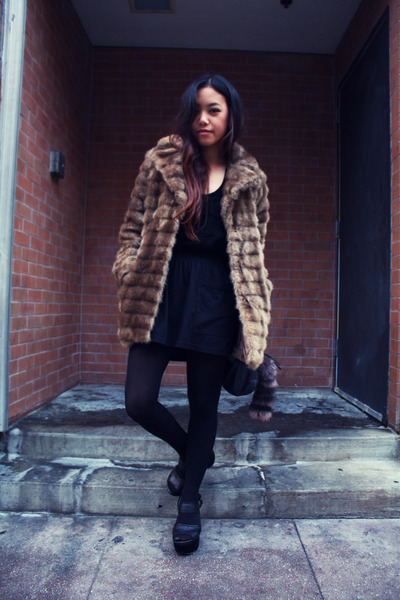 faux fur River Island jacket