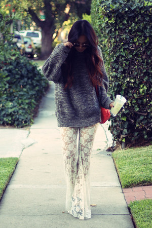 lace Urban Outfitters pants