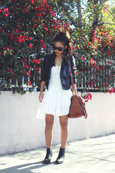 asos boots - Forever 21 dress