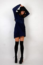 Babydoll-dress-vintage-from-rock-paper-vintage-dress-mr-floppy-forever-21-hat-