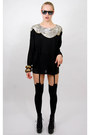 Black-sequin-vintage-from-rock-paper-vintage-top-black-house-of-holland-tights