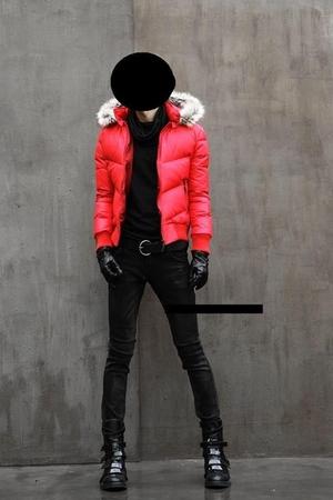red dior homme jacket - black dior homme jeans - black dior homme boots