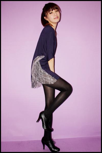 black rosebonbon blazer - pink Forever21 necklace - black leggings - black shoes