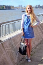 blue denim Pretty Little Thing dress
