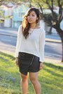 The-caravan-skirt-love-culture-sweater-zara-heels