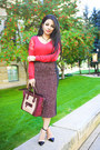 Roberto-cavalli-sweater-celine-purse-kimberly-heels
