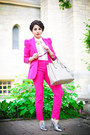 Hot-pink-zara-blazer-nude-prada-bag-hot-pink-zara-pants