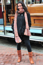scarf - shoes