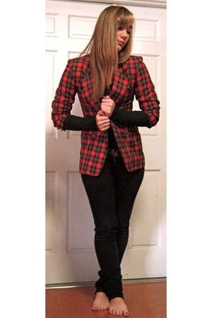 vintage blazer - Cheap Monday jeans
