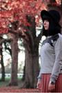 Periwinkle-bird-vero-moda-jumper-salmon-maxi-atmosphere-skirt