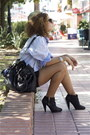 Hubbys-zara-shirt-zara-boots-michael-kors-bag-diy-h-m-denim-shorts