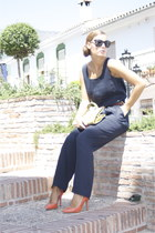 Zara heels - family vintage bag - Chanel glasses - family vintage belt