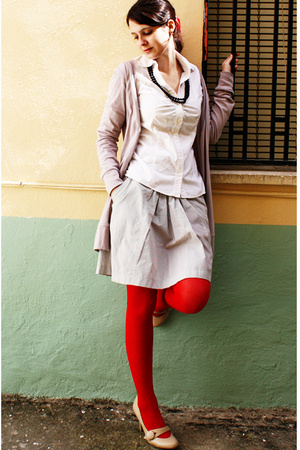 next shoes - asos tights - Pimkie skirt