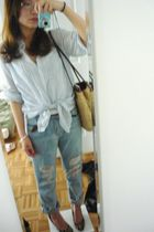Zara shirt - Urban Outfitters jeans - from japan - vintage