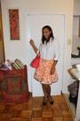 Cotton-white-express-shirt-salmon-aldo-bag-nine-west-heels