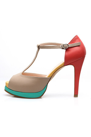 Colour of Cocktail heels