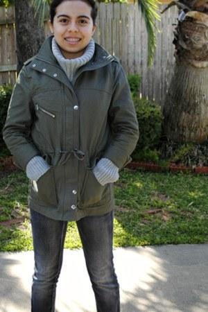 military H&M jacket