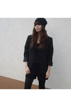 blazer - weekday suit - H&M hat