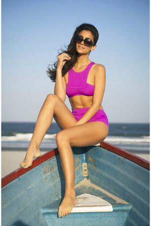 Zara sunglasses - nastygal bodysuit