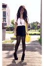Black-platform-forever-21-boots-sheer-tights-kenneth-cole-purse-zooshop-sh