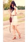 Vintage-satchel-fendi-bag-oversized-mango-top-blush-tulle-forever-21-skirt