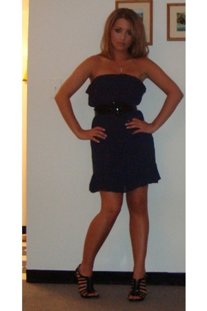 H&M dress - belt - Steve Madden shoes