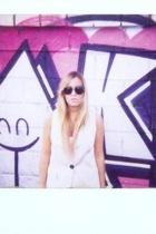 Mango sunglasses - Zara blazer