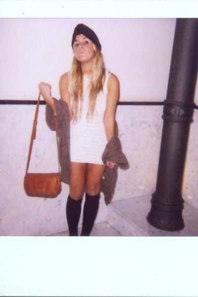 accessories - Zara dress - H&M - vintage from Ebay purse - Calzedonia socks